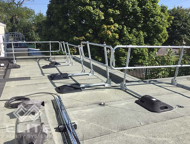 Pro-Guard Folding Guardrail